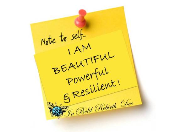 NOTE TO SELF on Wellness Wednesday!