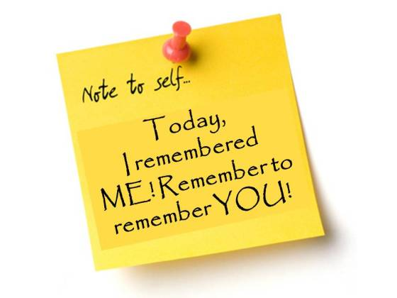 Today, Remember you!